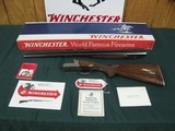6773 Winchester 23 Pigeon XTR 20 gauge 26 inch barrels 2 3/4 & 3 inch chambers, vent rib, single select trigger, round knob ejectors, Winchester butt