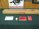 6780 Winchester 9410 410 gauge 24 inch barrels, lever action shotgun, NEW IN BOX UNFIRED, HANG TAG, AND ALL PAPERS, GREEN HI VIZ site,semi buckhorn mi