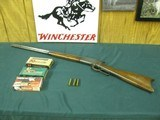 6797 Winchester 1886 45-70 26 inch barrel,blade front site, semi buckhorn elevator rear site, lever action, metal butt plate,all original, bore is ave
