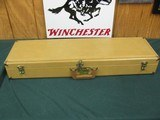 6813 Winchester correct case for Winchester 101 or model 23. will take 32 inch barrels , lock code is 124. 98% condition.