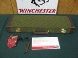 6850 Winchester 23 Pigeon XTR 20 gauge 26 inch barrels sk ic m f chokes,wrench pouch, round knob, single select trigger, ejectors, vent rib Winchester - 1 of 14