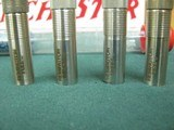 6859 Remington 1100 chokes for 410 gauge, extended stainless, sk ic mod full. - 3 of 3