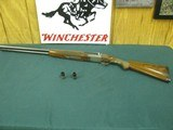 6867 Winchester 23 Pigeon XTR 12 gauge 28 inch barrels 2 screw in chokes mod/full, no wrench, round knob vent rib single select trigger, Winchester bu - 1 of 13