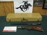 6879 Winchester 101 Pigeon 20 gauge 27 inch barrels, skeet, coin silver rose scroll engraved receiver, ejectors, pistol grip, Winchester butt plate, W