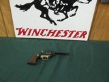 """6883MINT RUGER BEARCAT 22 caliber SINGLE ACTION 4"""" REVOLVER Serial number 90-18276. Brass trigger guard.new condition with 100% original blue - 1 of 9"""