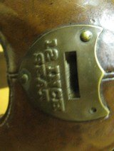 6902 McClellan Calvary Saddle WORLD WAR I,excellent condition, 12 inch model,leather top and under side in excellent condition, so are the stirrups an - 4 of 10
