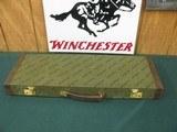 6930 Winchester 23 Golden Quail 28 gauge 26 barrels ic/mod,single select trigger, solid rib, quail pheasants engraved coin silver receiver, bores/shin