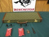 6940 Winchester model Pigeon XTR 12 gauge 27 barrels, 6 winchokes, sk,ic,mod,im,f,xf,2 pouches, wrench, keys, all complete and original 98% condition,