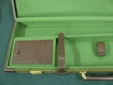 6959 Winchester 101 or Model 23 case, NEVER HAD A GUN IN IT,comes with original shipping box from Italy,with keys, will take 28 1/2 inch long barrels, - 7 of 9