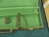 6959 Winchester 101 or Model 23 case, NEVER HAD A GUN IN IT,comes with original shipping box from Italy,with keys, will take 28 1/2 inch long barrels, - 8 of 9