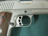 6955 Ruger S R 1911 45 ACP,NEW IN BOX, stainless steel, 1 mag,UNFIRED,all papers, correct serialized box, wood grips, 3 dot white sites,from private c - 10 of 10