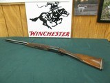 6981 Classic Doubles Classic 201 20 gauge 26 inch barrels STRAIGHT GRIP,ic/mod,ejectors,beavertail forend vent rib,,single select trigger, butt pad, l