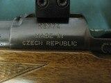 6989 CZ 550 Safari Magnum 375 H&H 26 inch barrel, 99% condition, Decelerator butt pad,mfg Czech Republic, 2 folding 1 standing site,LIGHT TRIGGER,SET - 5 of 14
