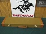 6994 Winchester 23 Golden Quail 28 gauge 26 barrels, ic/mod, solid rib, single select trigger, ejectors, beavertail, GOLD RAISES RELIEF QUAIL HEAD ON