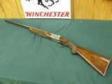7009 Winchester 23 Pigeon XTR 20 gauge 28 inch barrels, mod/full, vent rib, ejectors, round knob, rose/scroll engraved coin silver receiver, Wincheste - 1 of 13