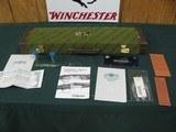 7017 Beretta 687 D U Banquet 410 gauge 26 inch barrels, sk ic mod full, 1991-92 D U BANQUET SHOTGUN, all papers, correct case, ducks/geese engraved co