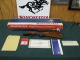 7006 Winchester 101 Field 20 gauge 28 inch barrels mod/full, pistol grip with cap,Winchester butt plate, ejectors,UNFIRED NEW IN BOX WITH PAPERS--time - 1 of 15