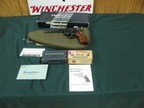 7101 Smith Wesson 16-4 K-32 MASTERPIECE, 32 MAG 10 barrel,target hammer,Goncalo grips,excellent condition,AS NEW IN BOX, papers, ammo,matching box,hol