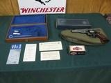 7108 Smith Wesson 28-2 357 MAGNUM HIGHWAY PATROLMAN 6 inch barrel,Walnut medallion grips, MFG 1973,excellent condition,slight turn ring, presentation