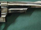 7109 Smith Wesson 27-2 357 MAGNUM 6 inch barrel, square N frame,wide serrated target trigge,DA,checkered Goncalo target grips with medallions,MFG 1977 - 9 of 10