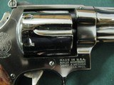 7109 Smith Wesson 27-2 357 MAGNUM 6 inch barrel, square N frame,wide serrated target trigge,DA,checkered Goncalo target grips with medallions,MFG 1977 - 8 of 10