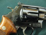 7109 Smith Wesson 27-2 357 MAGNUM 6 inch barrel, square N frame,wide serrated target trigge,DA,checkered Goncalo target grips with medallions,MFG 1977 - 10 of 10