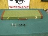 7127 Winchester model 101 XTR Lighweight, 20ga 27barrels,3 WINCHOKES- ic, mod full,GOLD ENGRAVED- 2 GOLD PHEASANTS, GOLD SNIPE GOLD QUAIL ALL RAISED R
