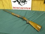 7137 Winchester 101 field 20 gauge 26 inch barrels, 2 3/4 & 3 inch chambers, skeet/skeet, Winchester butt plate, ejectors, lever to right, opens close