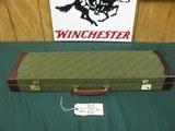 7137 Winchester shotgun case for model 23 or 101, will take 28 inch barrels, NOS