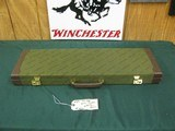 7136 Winchester shotgun case for model 23 or 101, will take 28 inch barrels, NOS