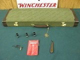7197 Winchester 101 Pigeon XTR LIGHTWEIGHT 20 gauge 3 inch chambers, 3 winchokes, ic mod full wrench pouch, keys, correct Winchester case, round knob,
