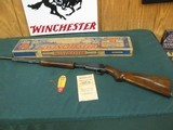 7210 Winchester 61 22 caliber, short, long,long rifle, steel butt plate 1951 mfg. Correct box, hang tag, Brochure, 97-98% condition.very excellent con
