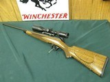 7244 Blazer R 8 Classic Sporter 300 win mag 26 inch barrel, detachable trigger/magazine, tiger stripped walnut, black forend tip grade 7 wood 99% exce