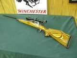 7259 Winslow COMMANDER MODEL ON BUSHMASTER STOCK Custom rifle mfg in Florida Circa 1975, Belgium Mauser 98 action, only approx 500 mfg,300 Win Mag, 26