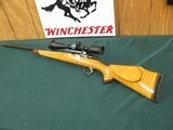 7260 Winslow COMMANDER MODEL ON BUSHMASTER STOCK Custom rifle mfg in Florida Circa 1975, Belgium Mauser 98 action, only approx 500 mfg,22-250, 26 inch