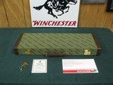 7271 Winchester 23 Classic 410 gauge 26 barrels mod/full, AAA++FANCY WALNLUT. NOT A MARK ON IT. AS NEW IN NEW CASE,PAPERS, vent rib, single select tri