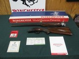 7276 Winchester 101 field 20 gauge 26 inch barrelsWinchester box,papers,skeet/skeet, pistol grip with cap, Winchester butt plate ejectors, single fr