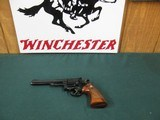 7278 Smith Wesson 19-3 357 mag, 6 inch barrel, rear adjustable site, 99% condition. medallian walnut grips, not a mark on them, miniscule ring mark. d