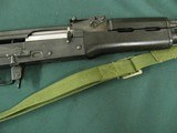 7282 Norinco 84S AK 47 5.56 cal,(223 REM) 16.34 barrel, mfg in China 1988-89 only, PREBAN,30 SHOT MAG, 1000 METER ADJUSTABLE SITE,made in stat - 12 of 16