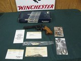 7302 Smith Wesson 586 357 Mag8 3/8 barrel New in box, not a mark on it. papers tools correct book, adjustable rear site, high polish blue. medallion