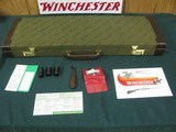 7303 Winchester 101 Quail Special 12 gauge 25 inch barrels, 5 chokes 2 ic mod full x full, AAA++FANCY FEATHER CROTCH WALNUT, STRAIGHT GRIP, vent rib e