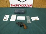 7326 Smith Wesson Chiefs Special Airweight model 37 2 inch barrel tools, papers, correct box, NIB, rare square butt,s/n J29480x, appears unfired, ever