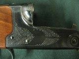 7366 Winchester 23 Classic 410 gauge 26 barrels mod full, vent rib, ejectors, single select trigger, Winchester butt pad, all original, gold raised re - 9 of 12