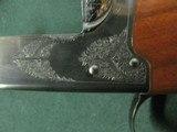 7366 Winchester 23 Classic 410 gauge 26 barrels mod full, vent rib, ejectors, single select trigger, Winchester butt pad, all original, gold raised re - 5 of 12
