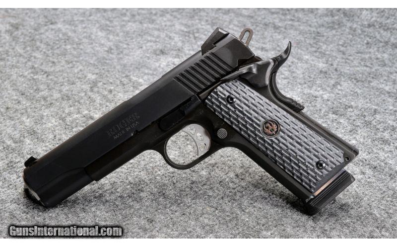 Ruger ~ SR1911 ~  45 ACP