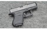 Glock ~ 26 ~ 9 MM Luger
