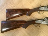 Pair of 12 Gauge Abbiatico and Salvanelli Over and Unders - 10 of 15