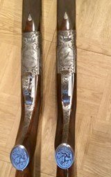 Pair of 12 Gauge Abbiatico and Salvanelli Over and Unders - 7 of 15