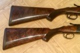Pair of Galazan 20 gauge Inverness over and unders.