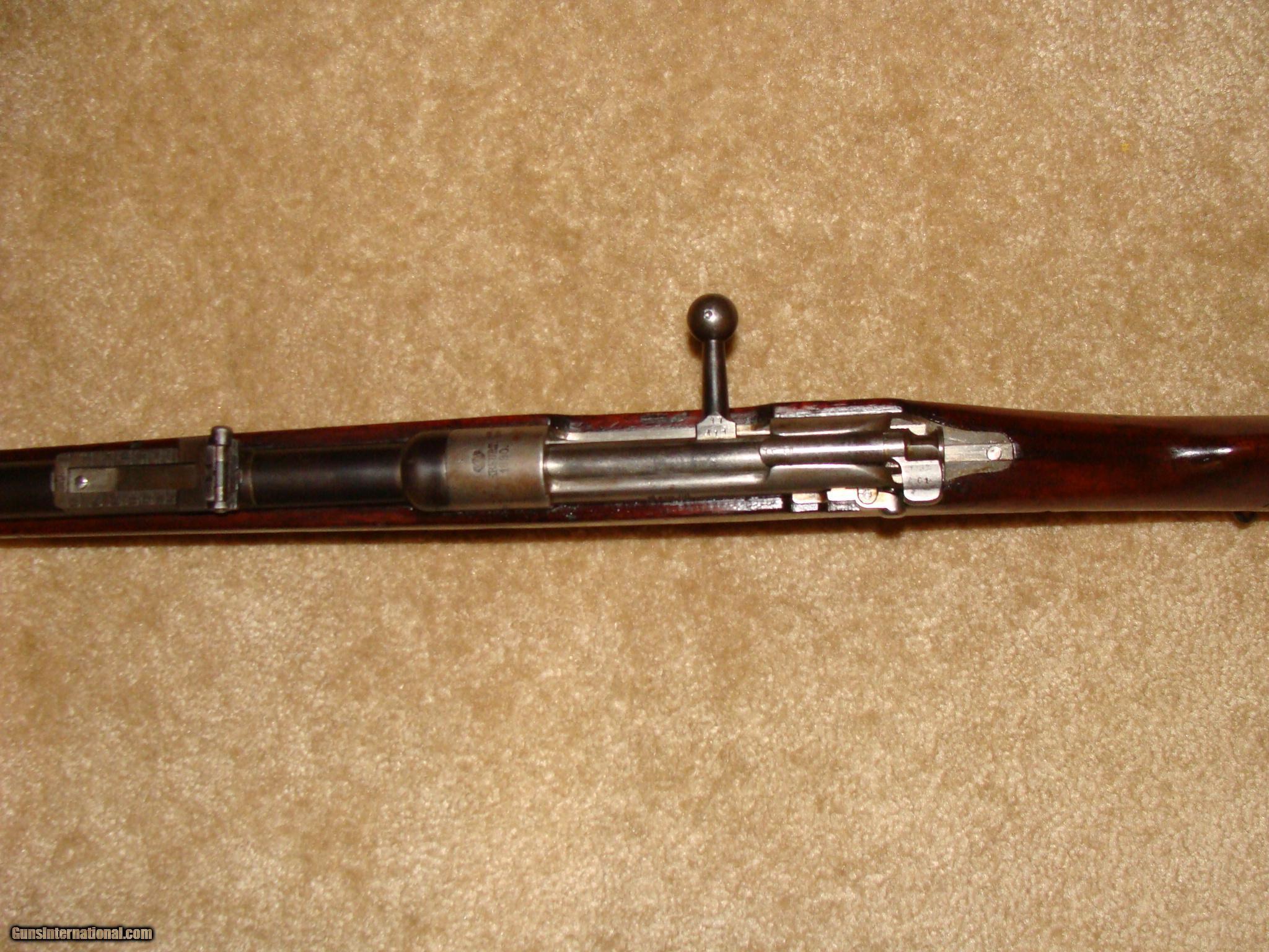 Mauser Model 1888 German GWR 8 mm